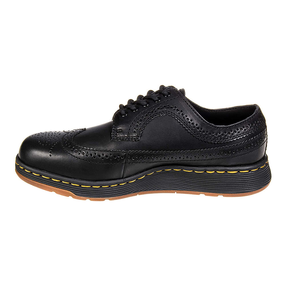 Dr Martens Gabe Wingtip Shoes (Black)