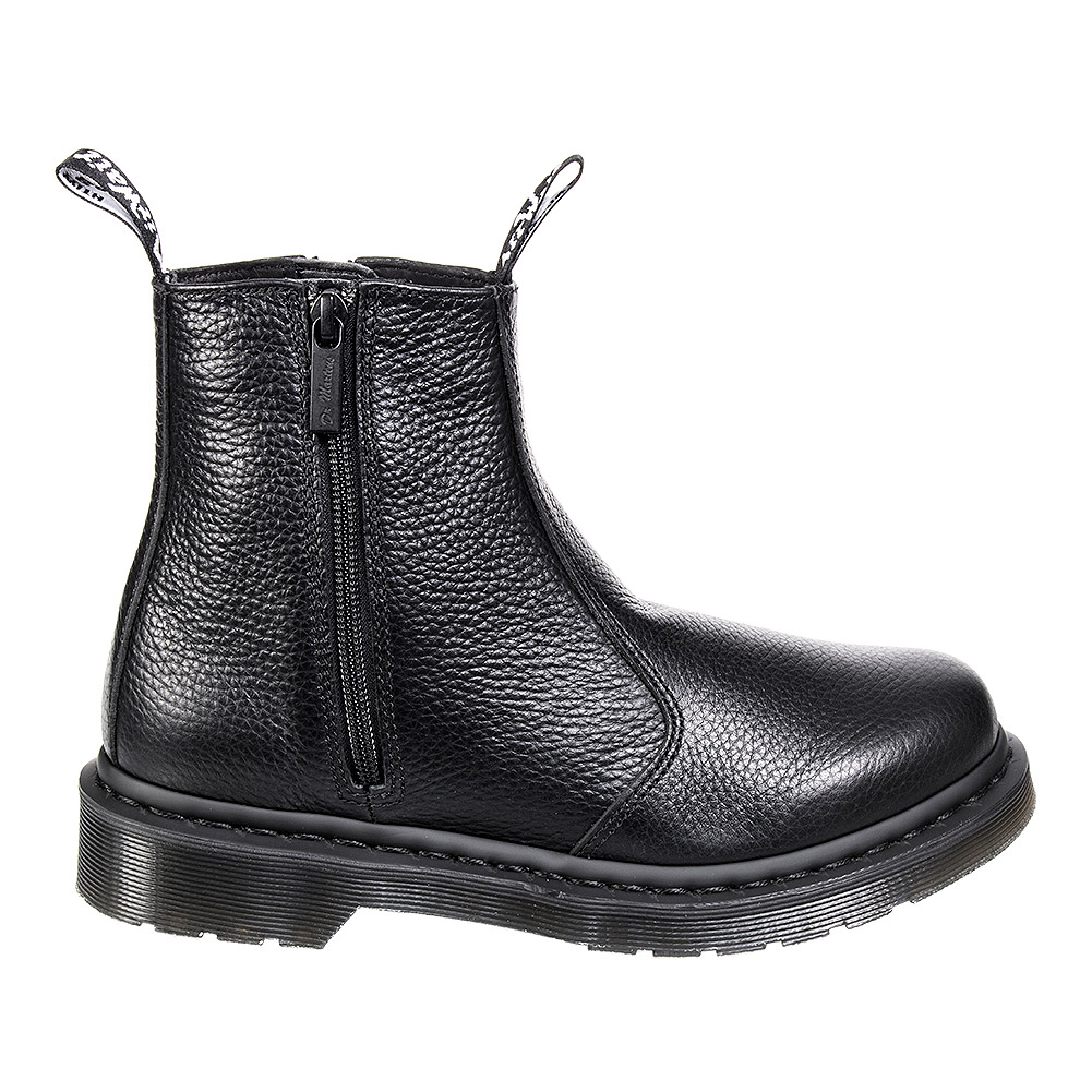 Dr Martens Milled Nappa Zip Chelsea Boots (Black)