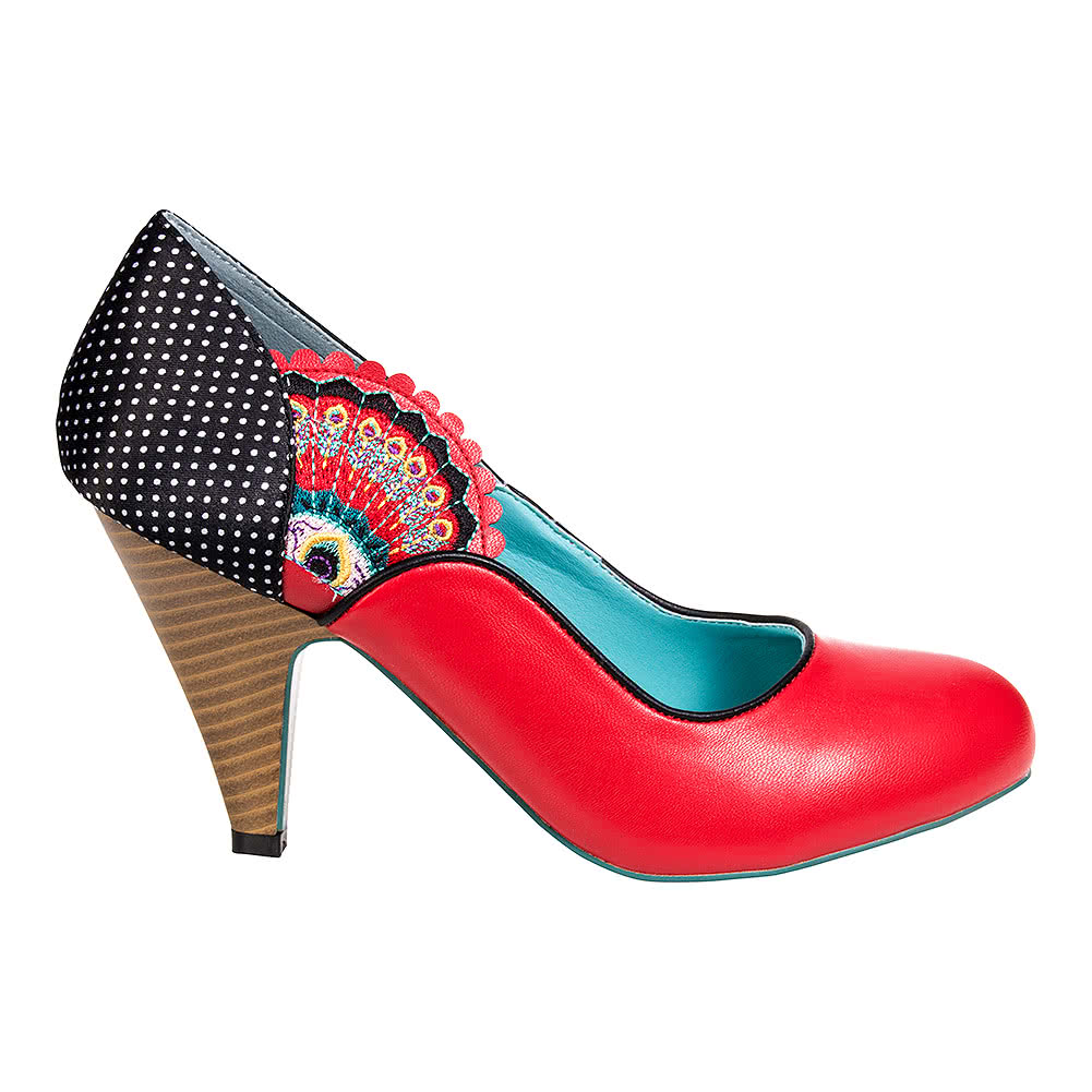Banned Sway High Heeled Shoes Red