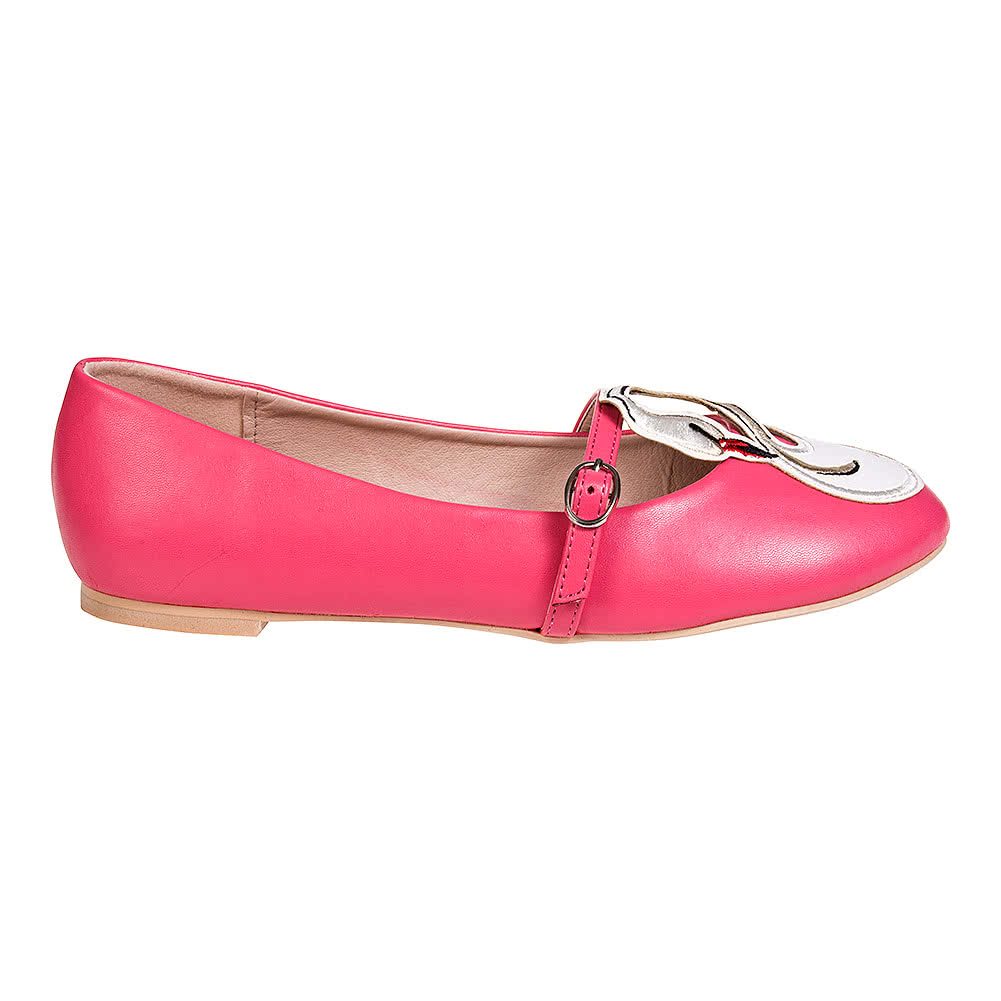 Banned Moondance Flat Shoes (Pink)