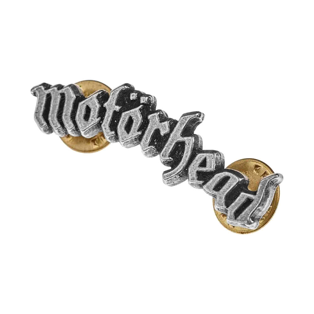 Alchemy Rocks Motorhead Logo Pin Badge