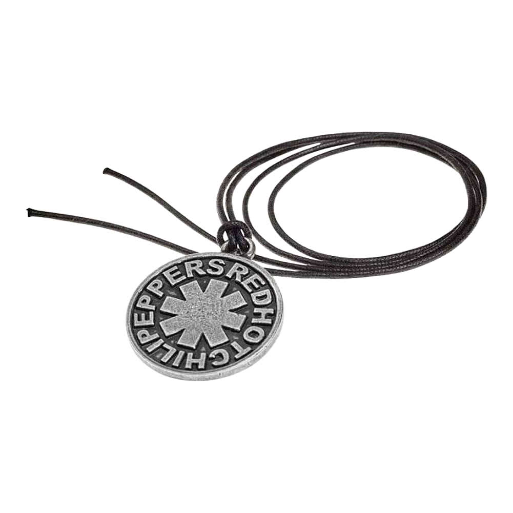 Alchemy Rocks Red Hot Chili Peppers Asterisk Pendant Kette (Schwarz/Silber)