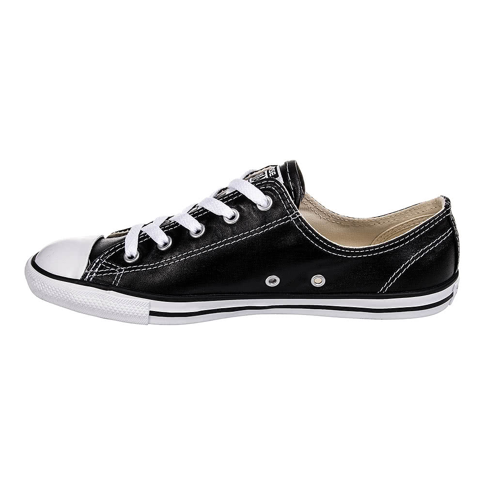 Converse All Star Dainty Ox Shoes (Black/White)