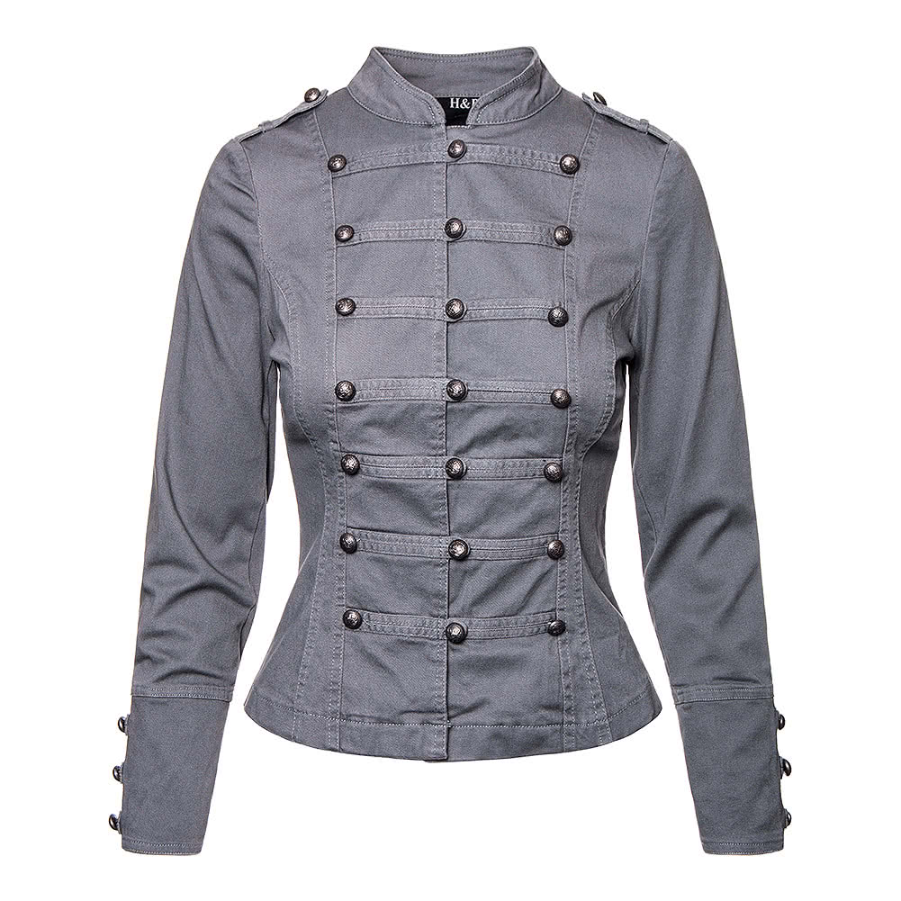H&R Military Braid Jacket (Grey)