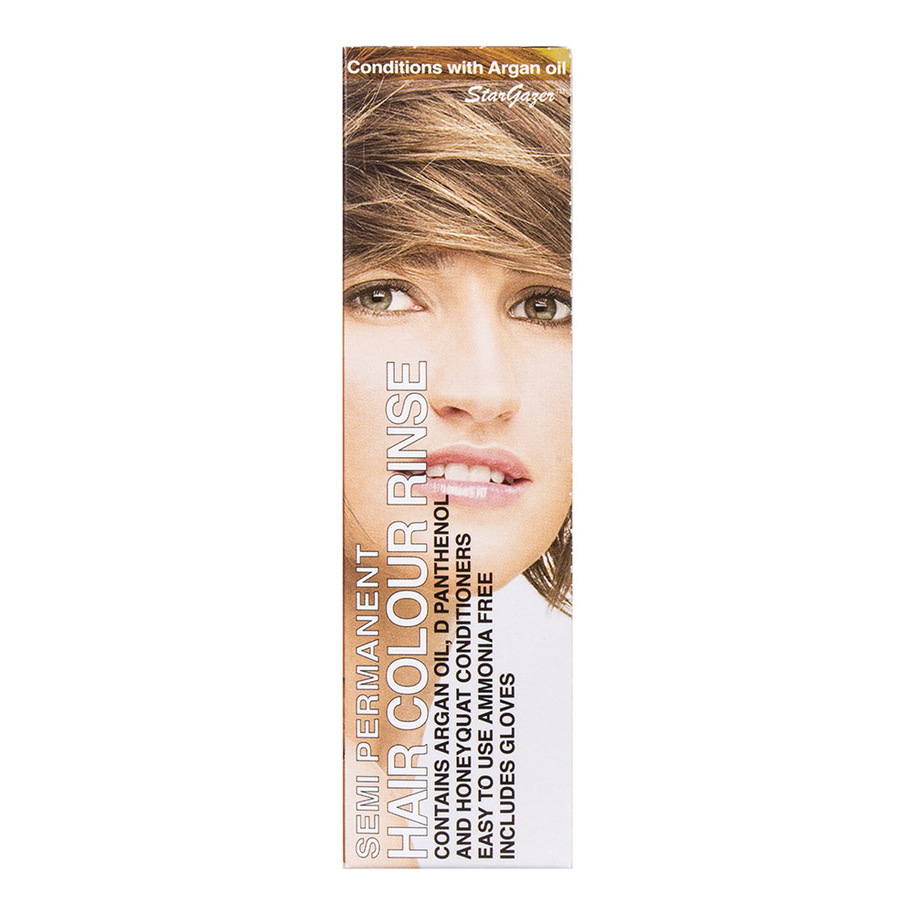 Stargazer Natural Tone Semi-Permanent Hair Dye 70ml (Natural Mid Brown)
