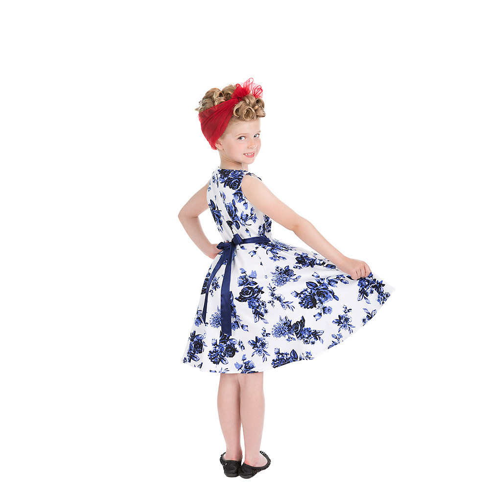 H&R Rosacae Kids Dress (Blue)