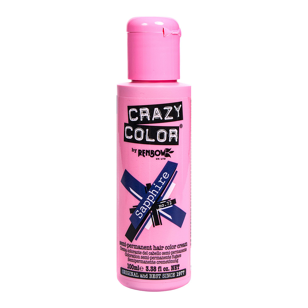 Crazy Color Haartönung 100ml (Sapphire Blue - Blau)