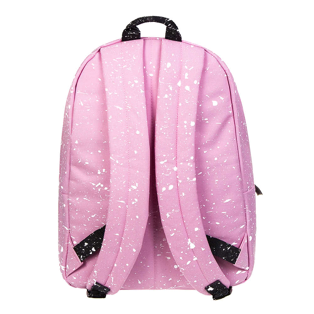 Hype Splat Backpack (Baby Pink/White)
