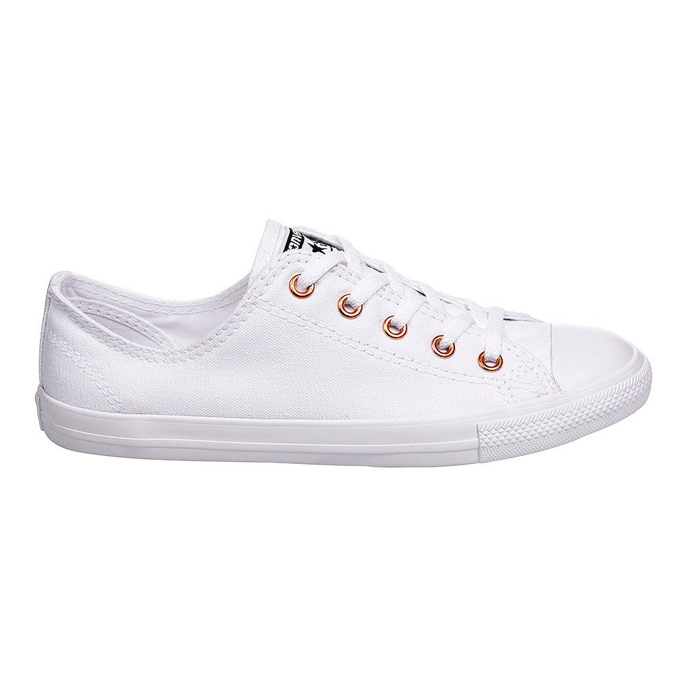 converse shoes all white. converse all star dainty ox shoes (all white) white h