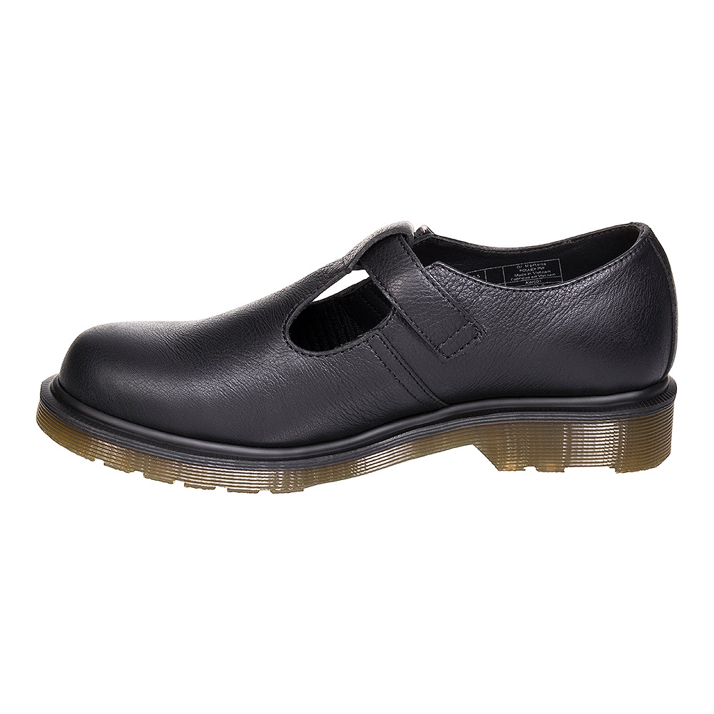Dr Martens Polley Virginia Mary Jane Shoes (Black)