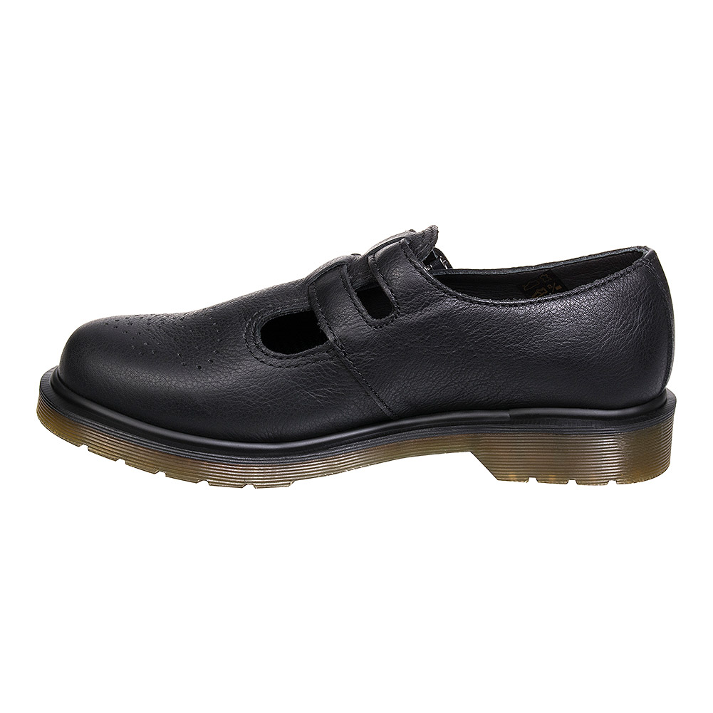 Dr Martens 8065 Virginia Mary Jane Shoes (Black)
