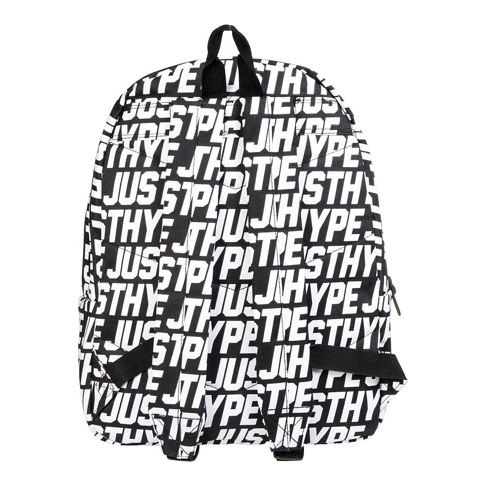 Hype Just Hype Backpack (Black/White)