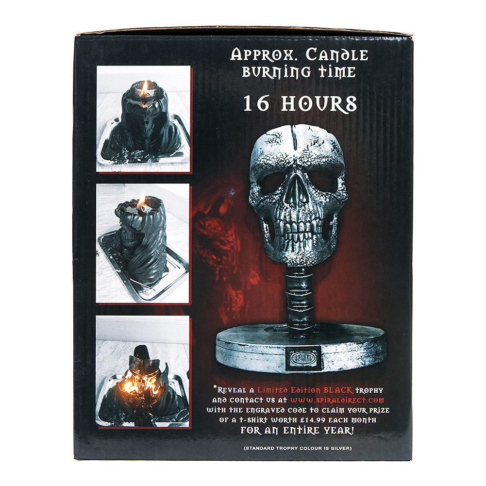 Spiral Direct Grim Reaper Candle Bust (Black)