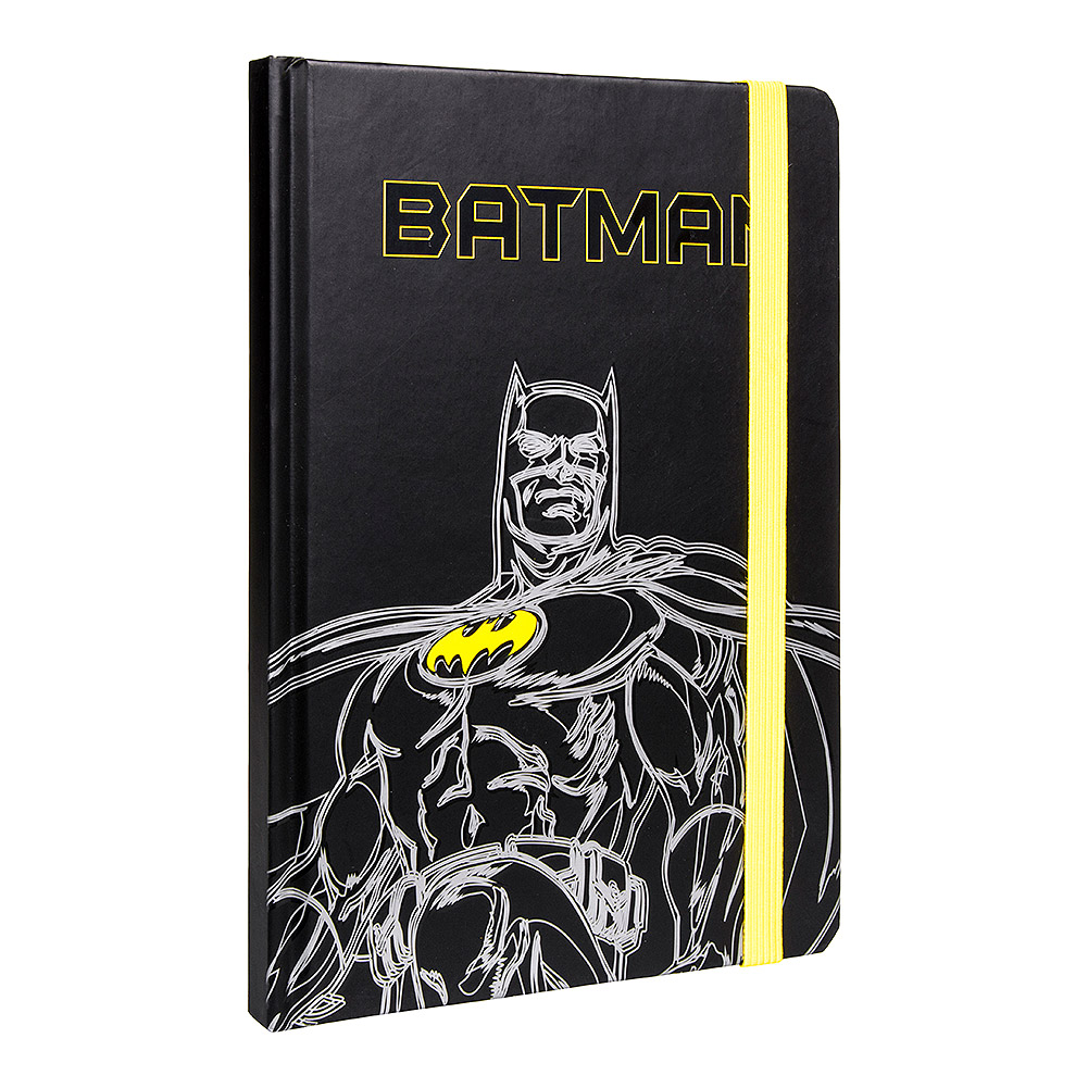 Batman Dark Knight A5 Notebook (Black)