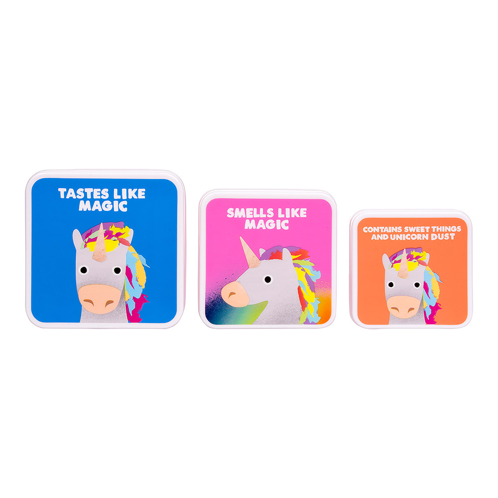 Jolly Awesome Tastes Like Magic Lunchbox Set (Pack of 3)