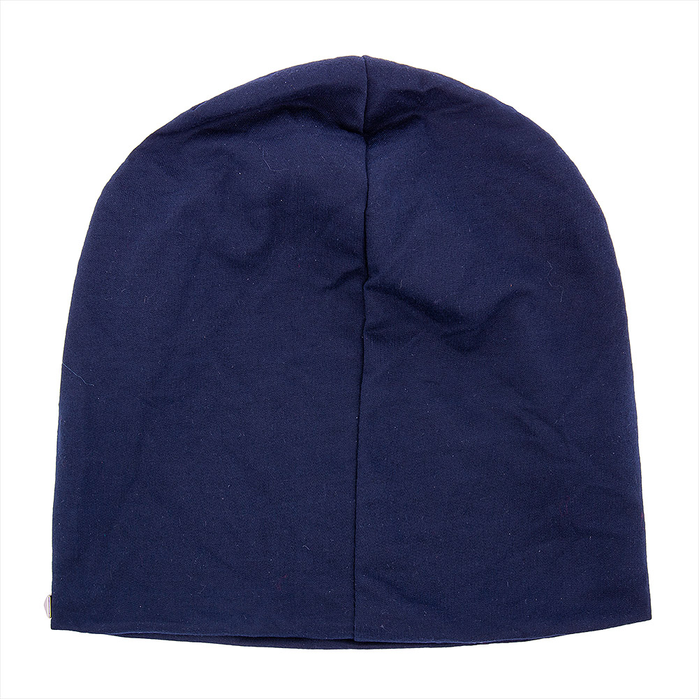 Blue Banana Square Studs Beanie (Blue)