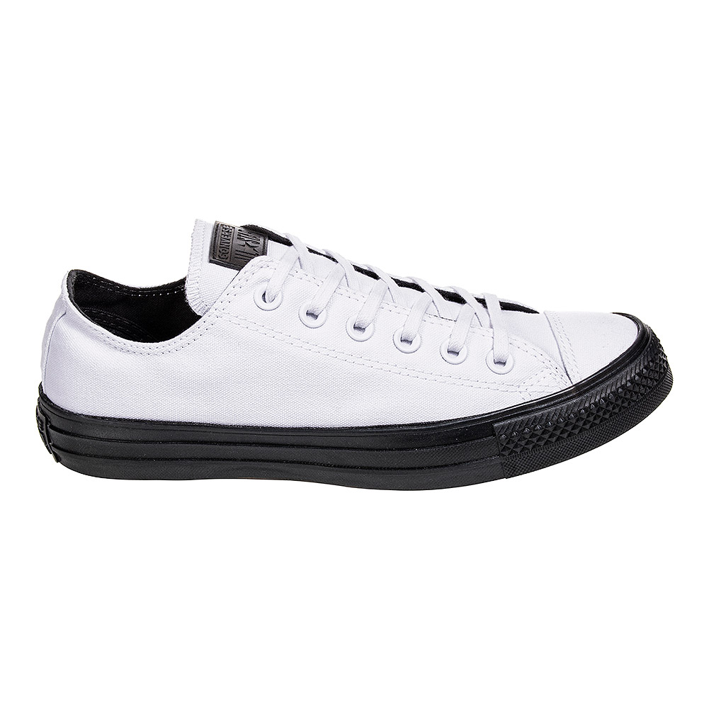 38cac5ec30aae1 ... Converse All Star Ox Shoes (White Almost Black) ...