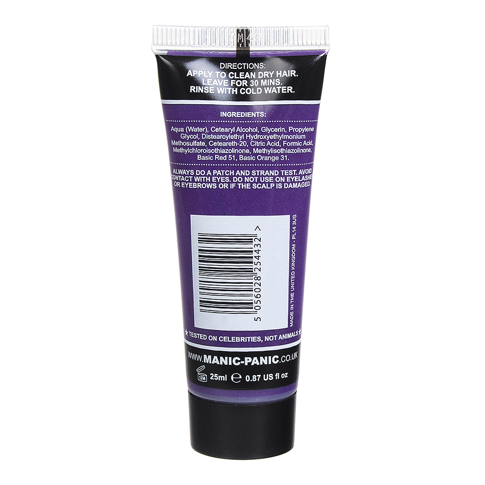 Manic Panic High Voltage Classic Mini Haarfarbe 25ml (Ultra Violet - Blau)