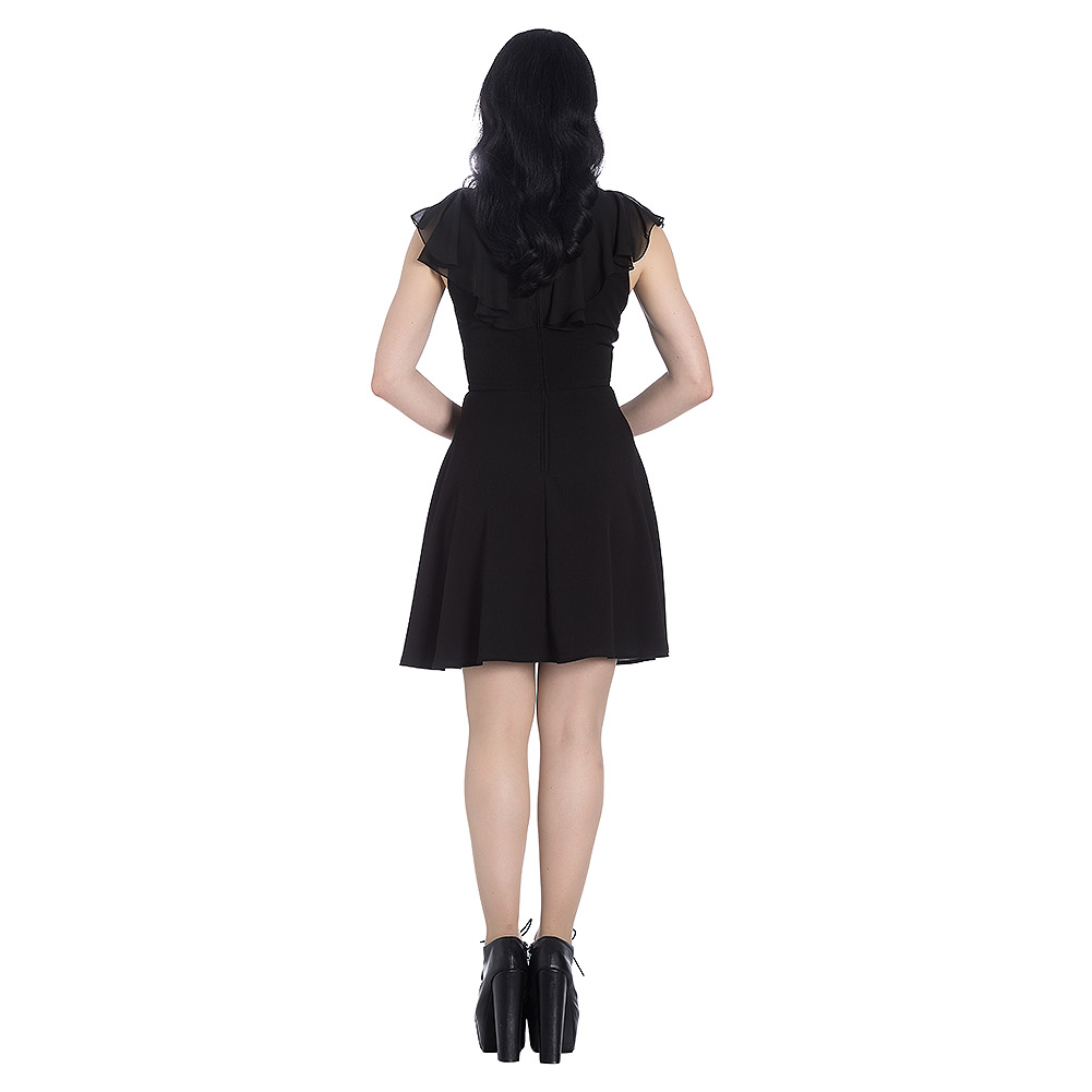 Hell Bunny Onyx Mini Dress (Black)