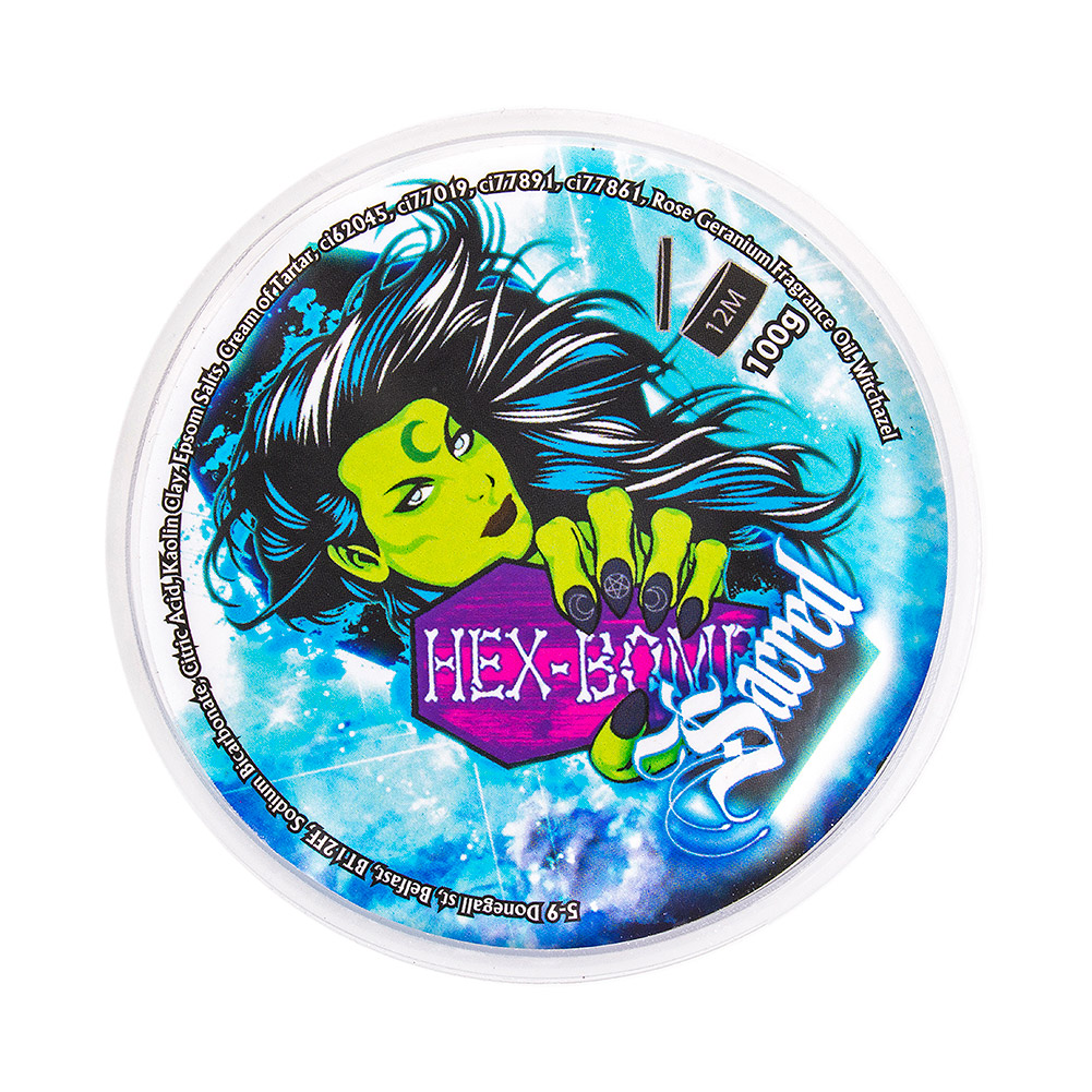 Hex Bomb Metallic Bath Bomb (Sacred)