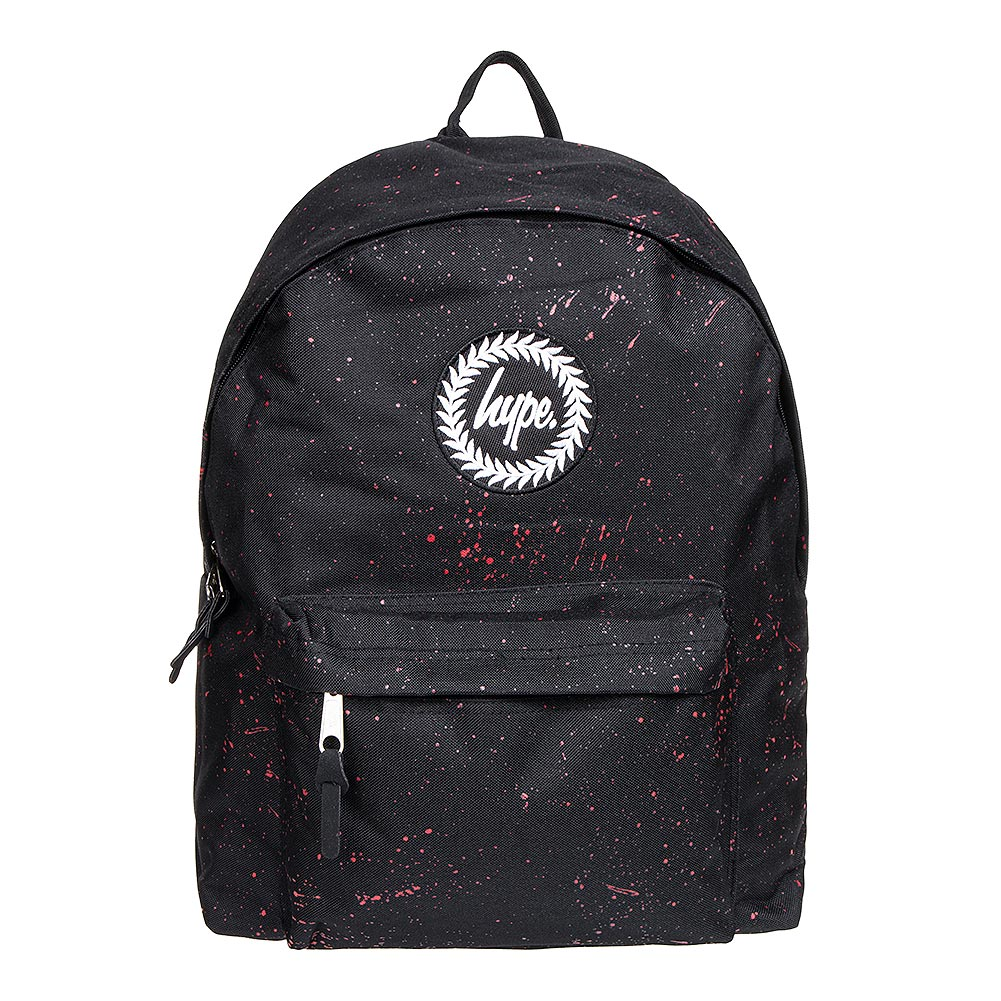 Hype Speckle Backpack (Black/Red)