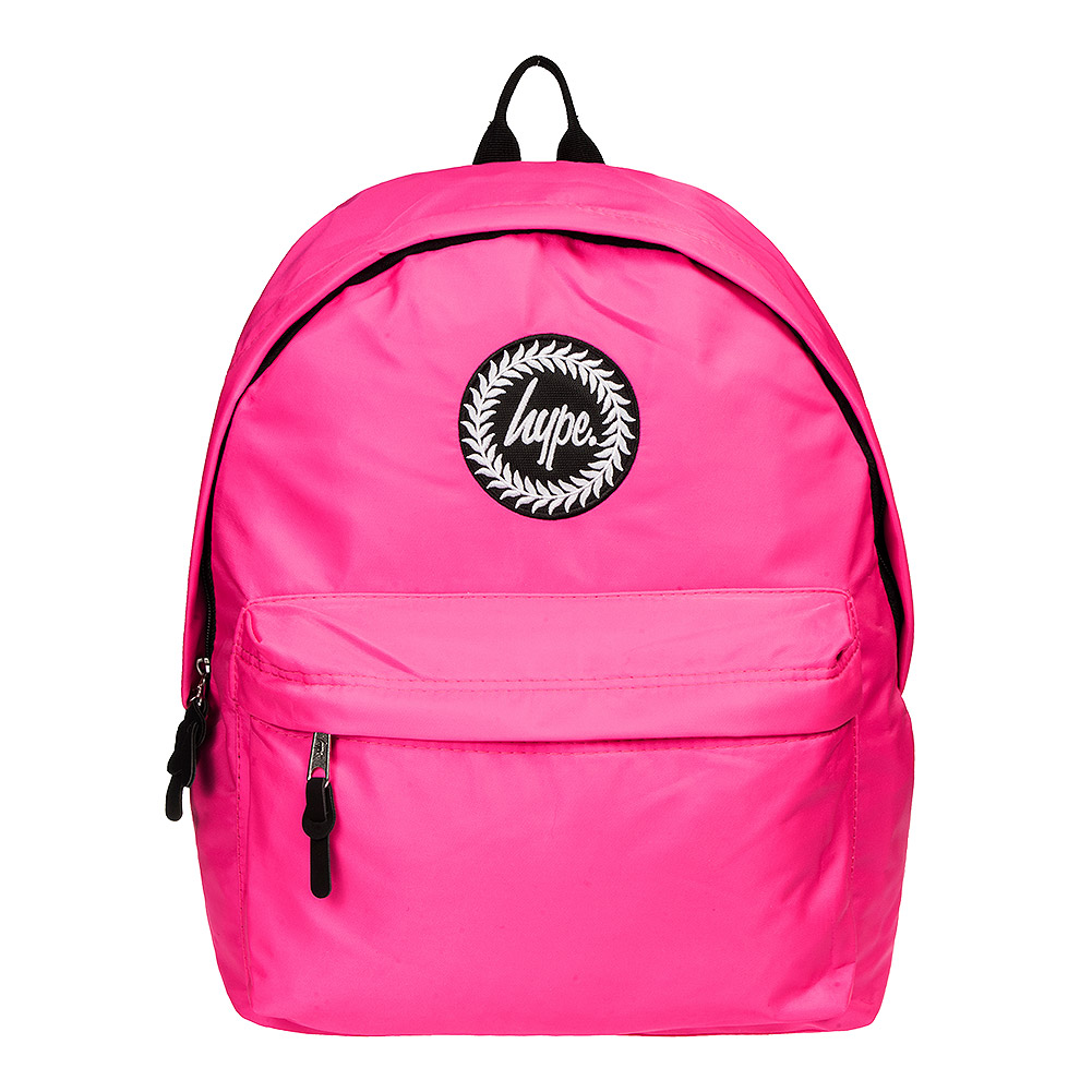 Hype Fluorescent Backpack (Pink)