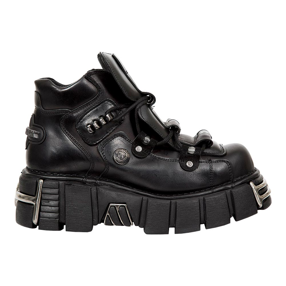 New Rock M.215-S3 Tower Platform Boots (Black)
