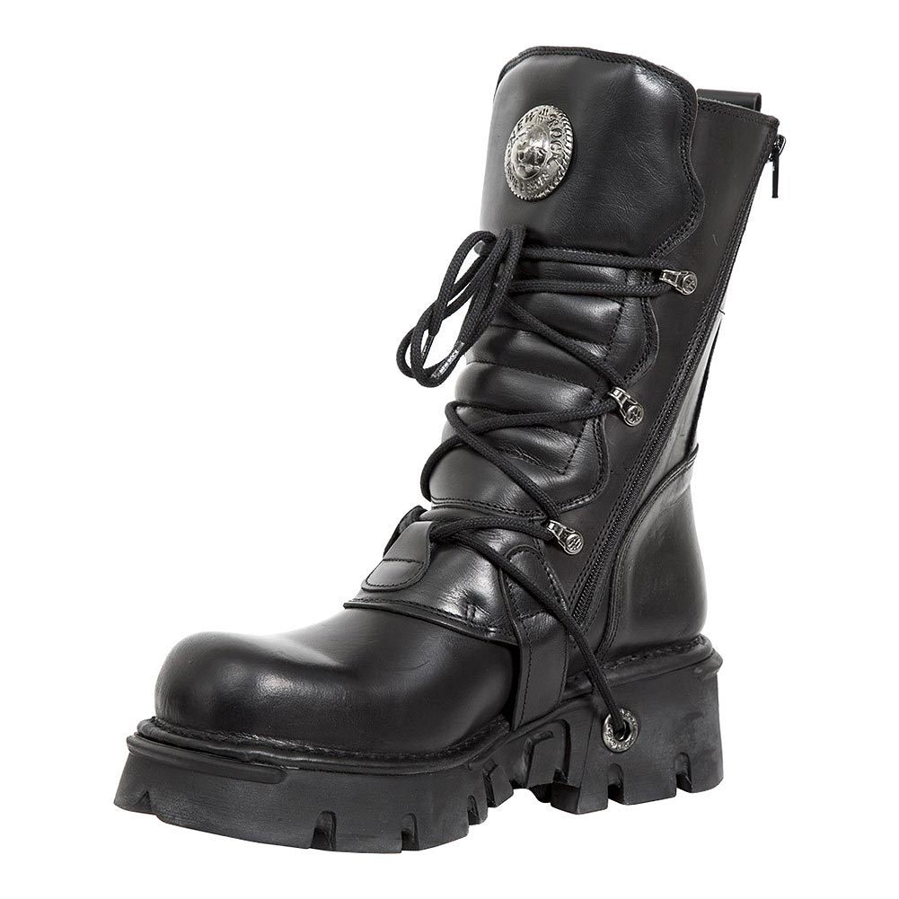 New Rock M.373-S29 Reactor Half Boots (Black)