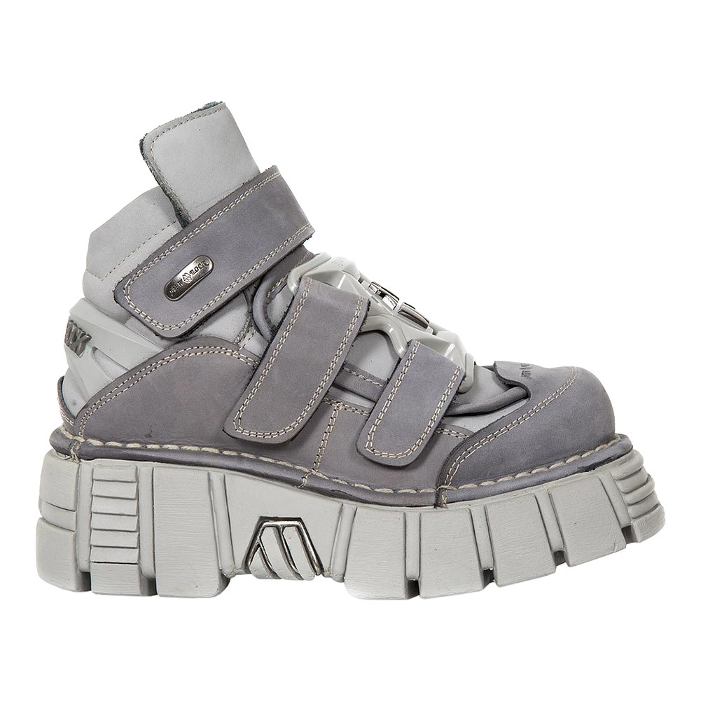 New Rock M.285-S17 Tower Platform Shoes (Grey)