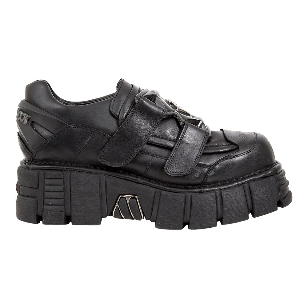 New Rock M.268-S2 Tower Shoes (Black)