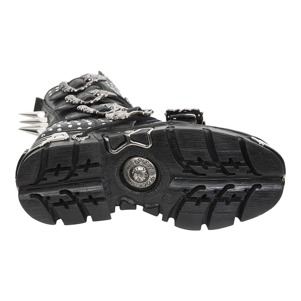 New Rock M.1535-S1 Reactor Spikes Stiefeletten (Schwarz)