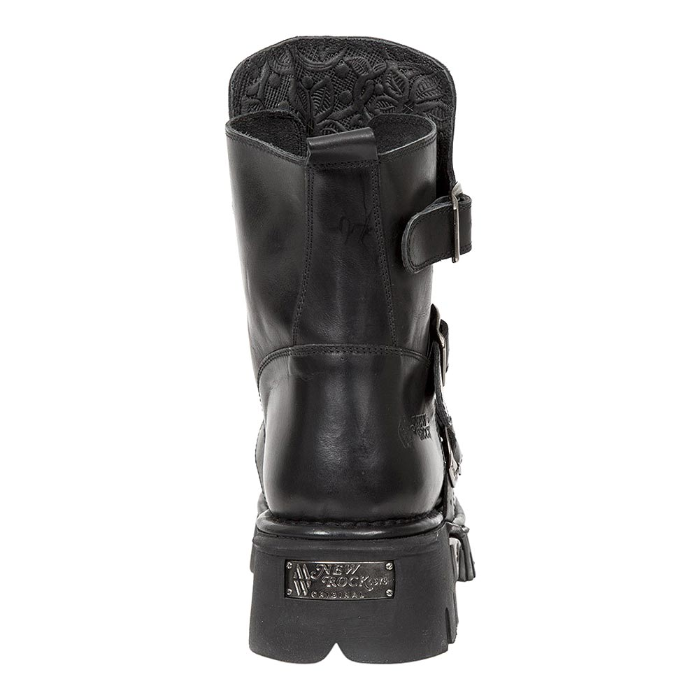 New Rock M.1482X-S2 Reactor Half Boots (Black)