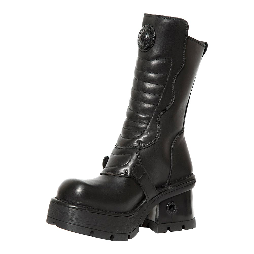New Rock M.373QX-S1 M8 Calf Boots (Black)