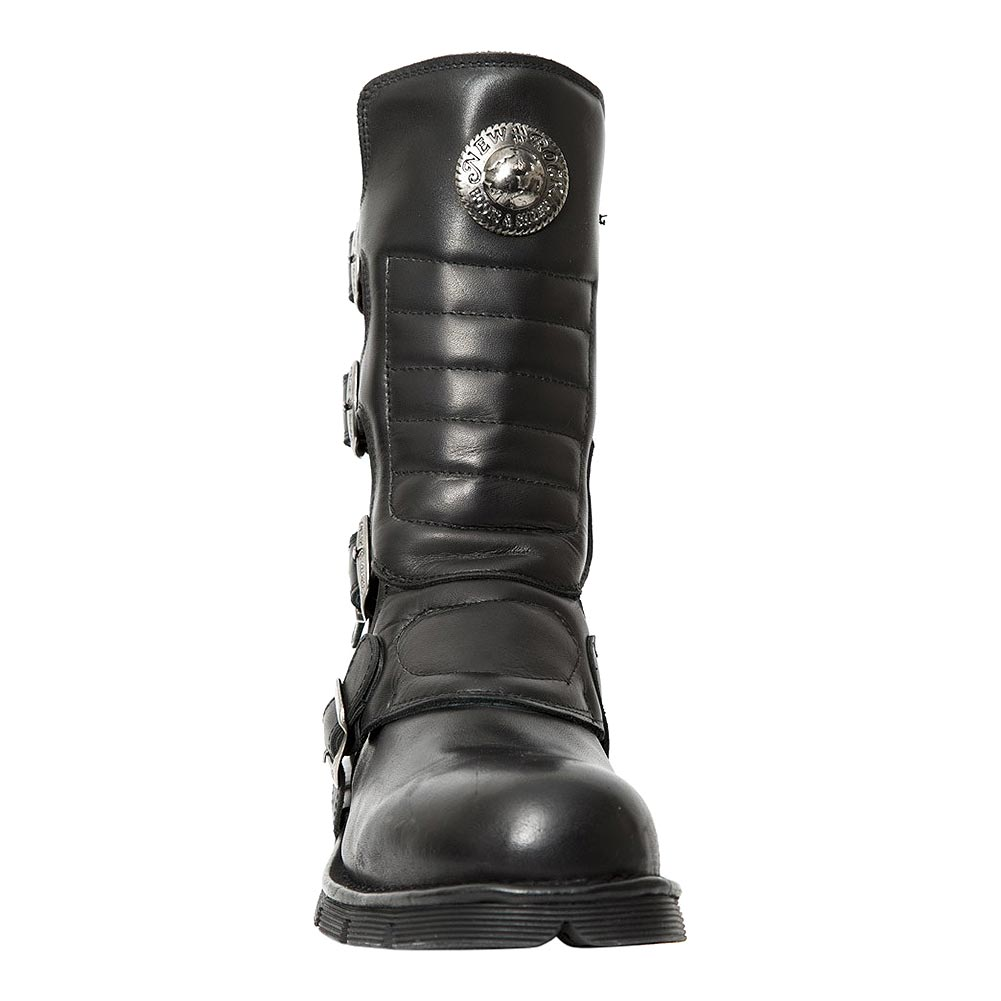 New Rock M.373X-S10 Comfort-Light Half Boots (Black)