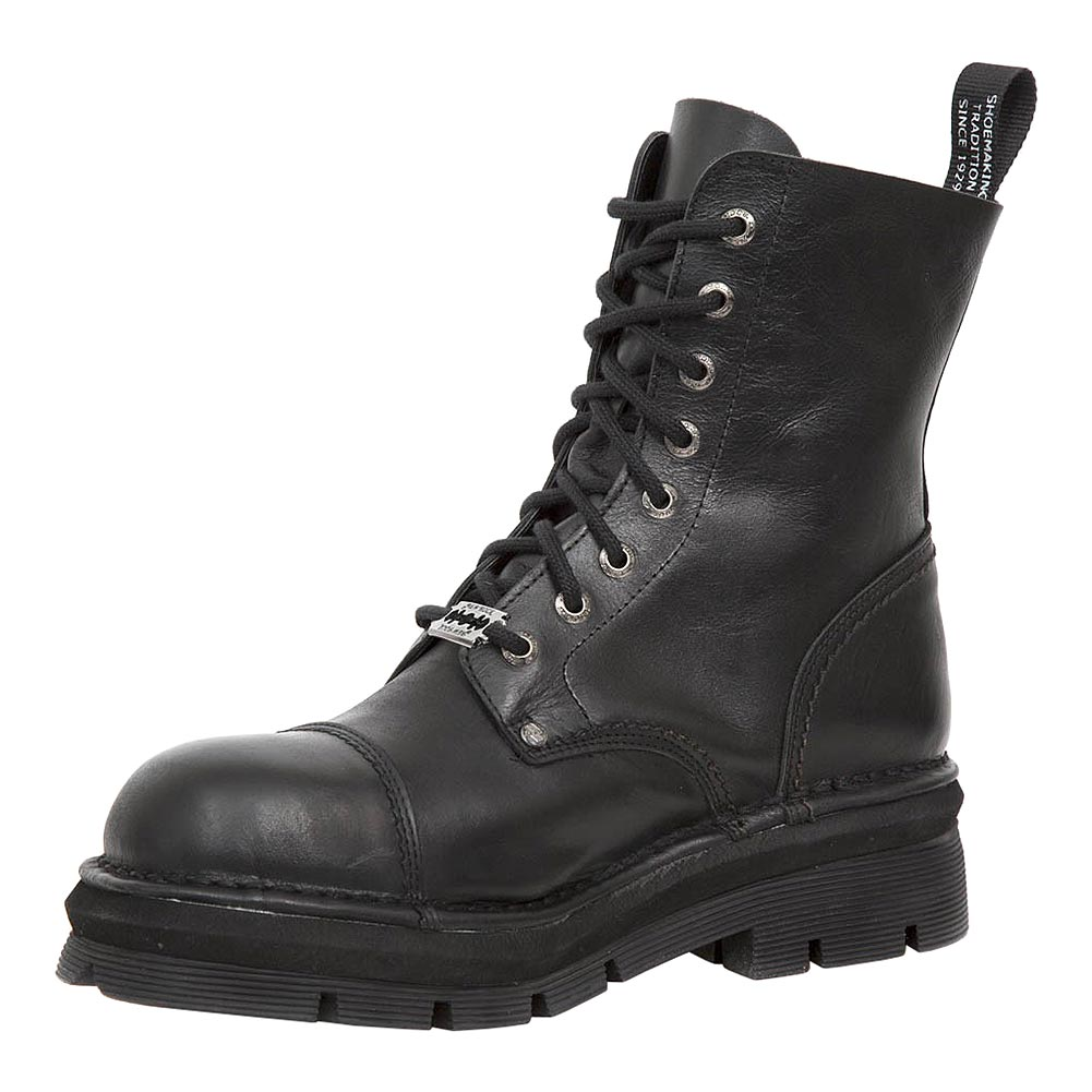 New Rock M.NEWMILI083-S14 Mili Half Boots (Black)
