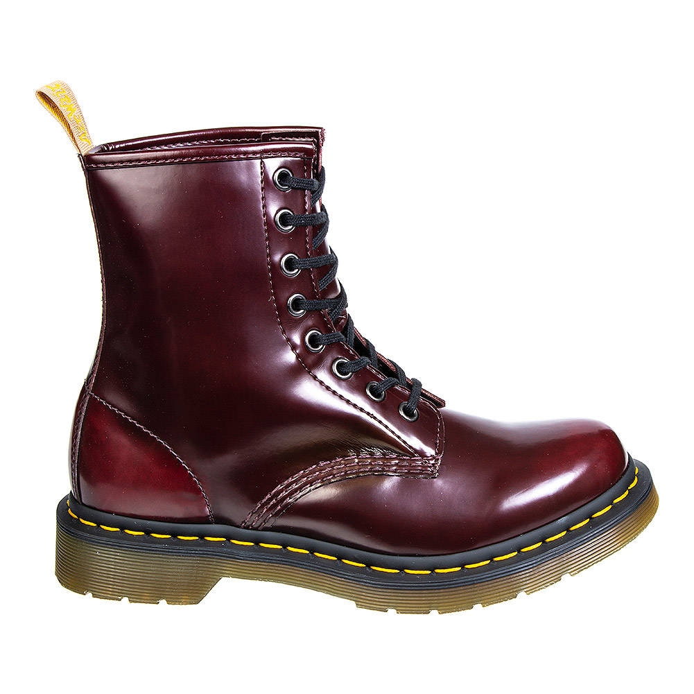 Dr Martens 1460 Vegan Boots (Cherry Red)