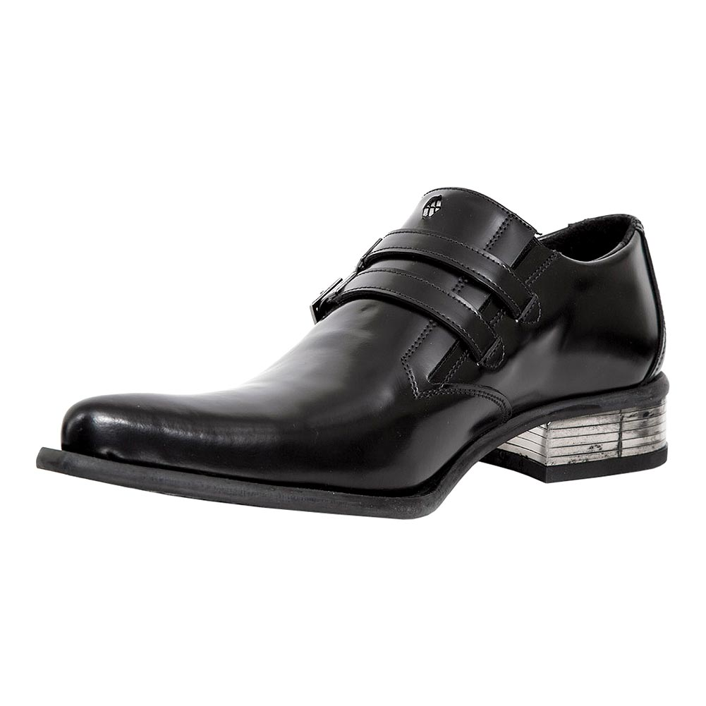 New Rock M.2246-S14 Newman Shoes (Black)