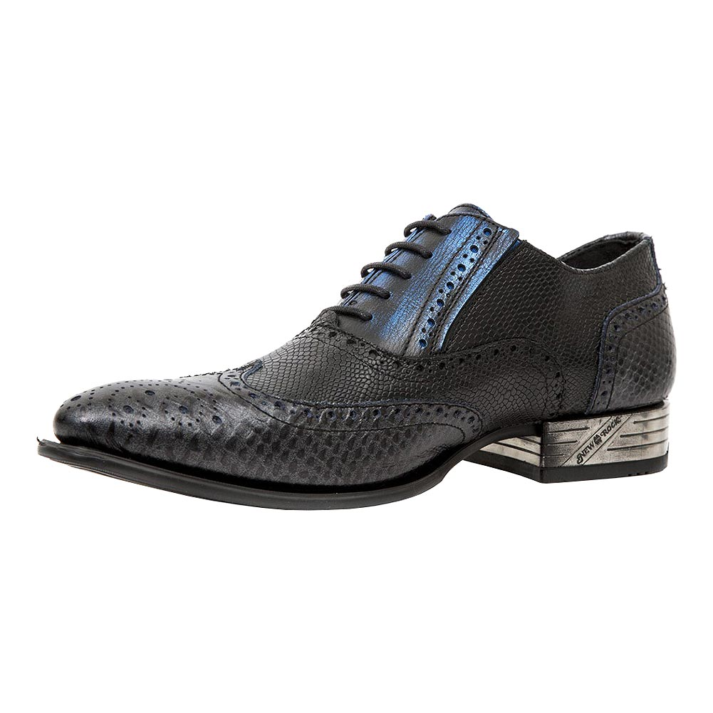 New Rock M.NW136-S7 VIP Shoes (Black/Blue)