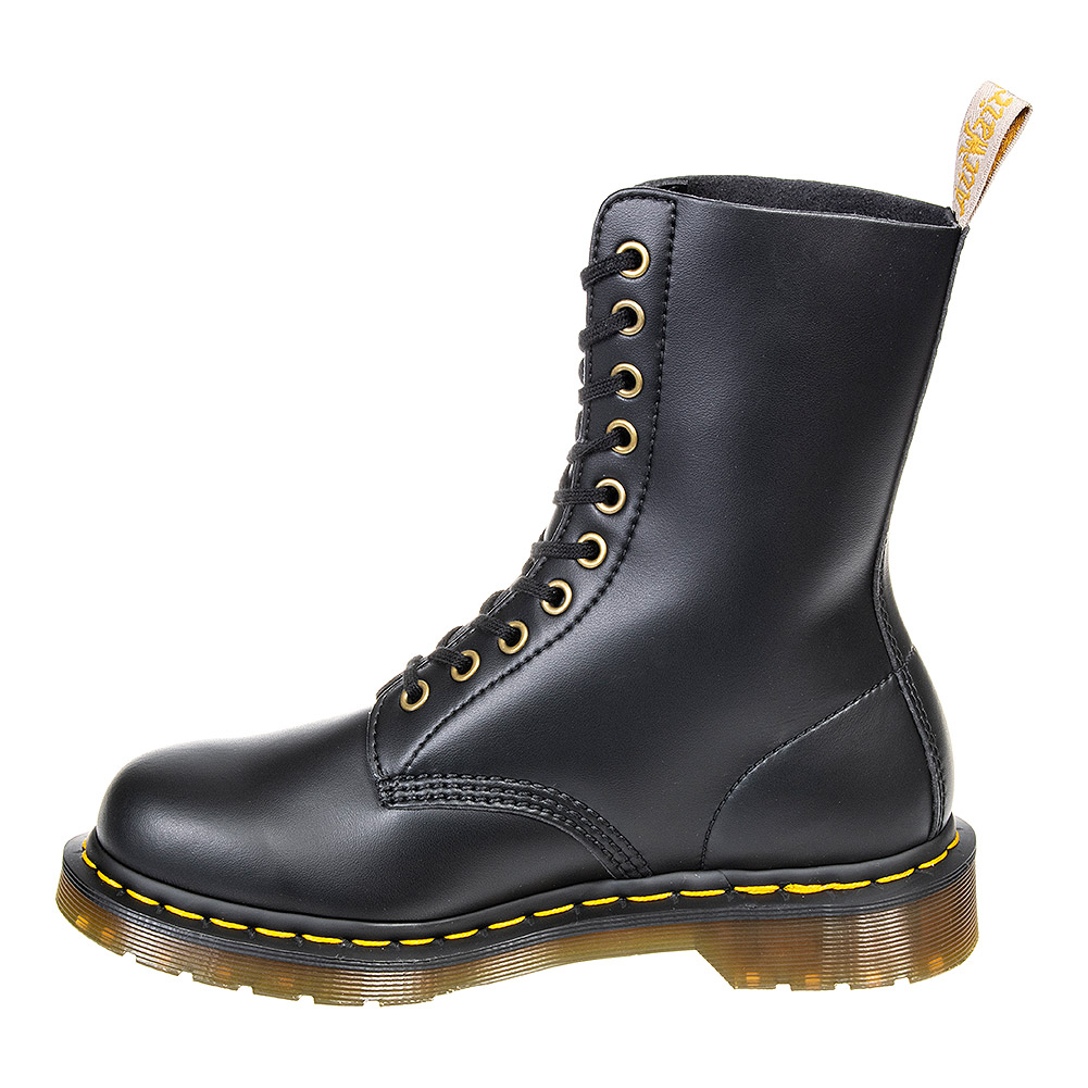 Dr Martens 1490 Vegan Felix Rub Off Boots (Black)