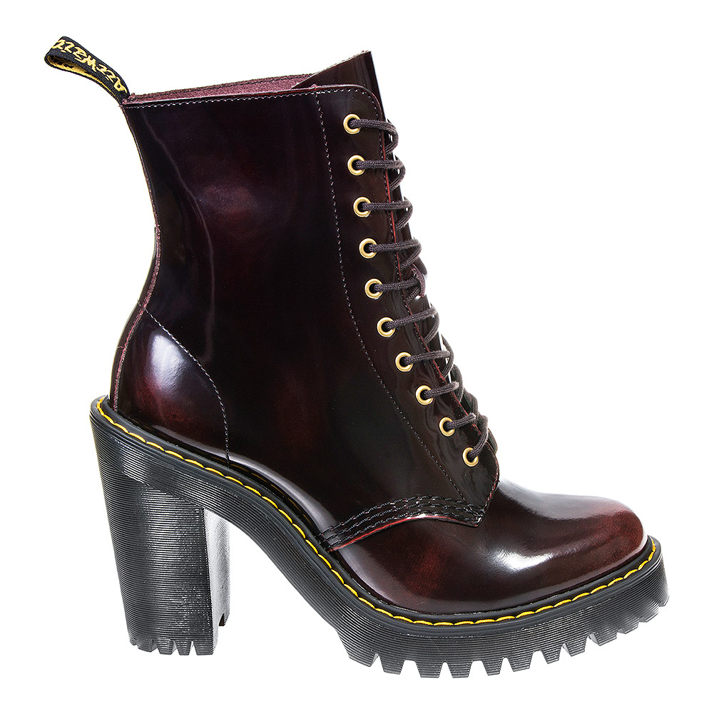 Dr Martens Kendra Arcadia Boots (Cherry Red)
