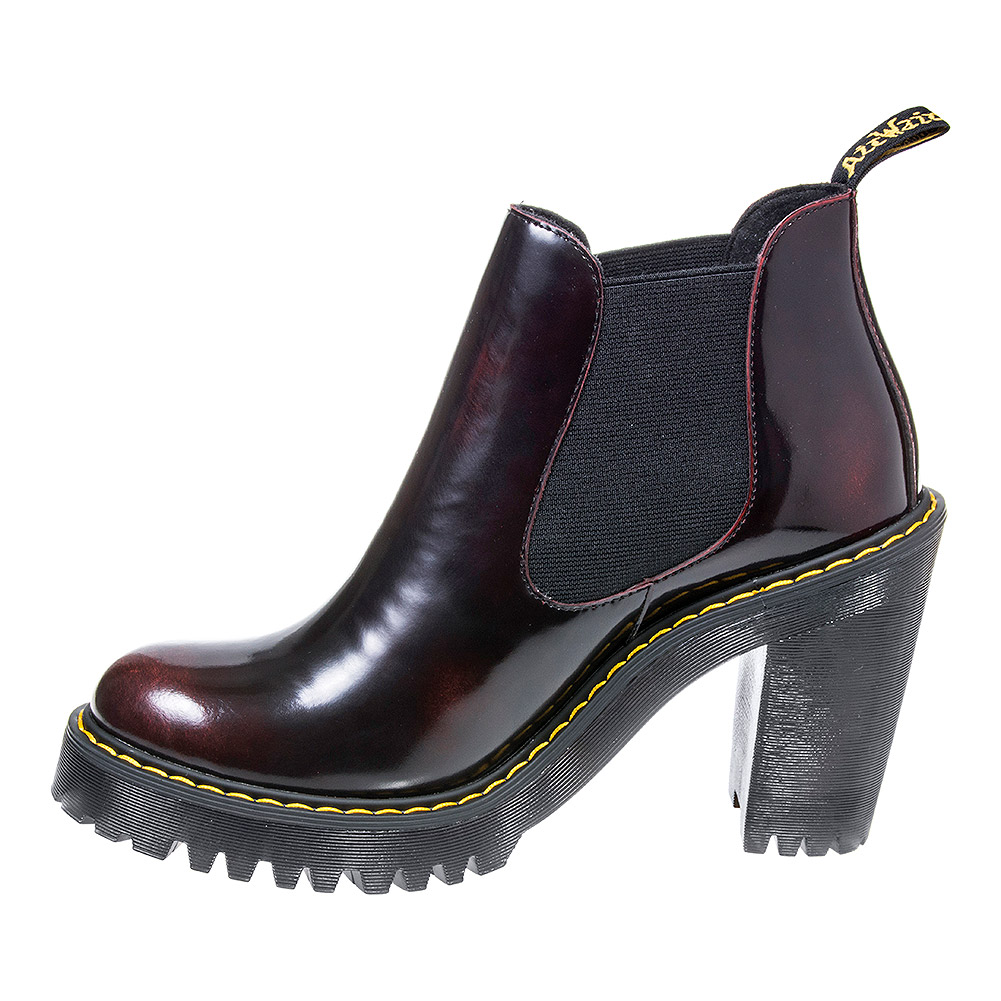 Dr Martens Hurston Boots (Cherry Red)
