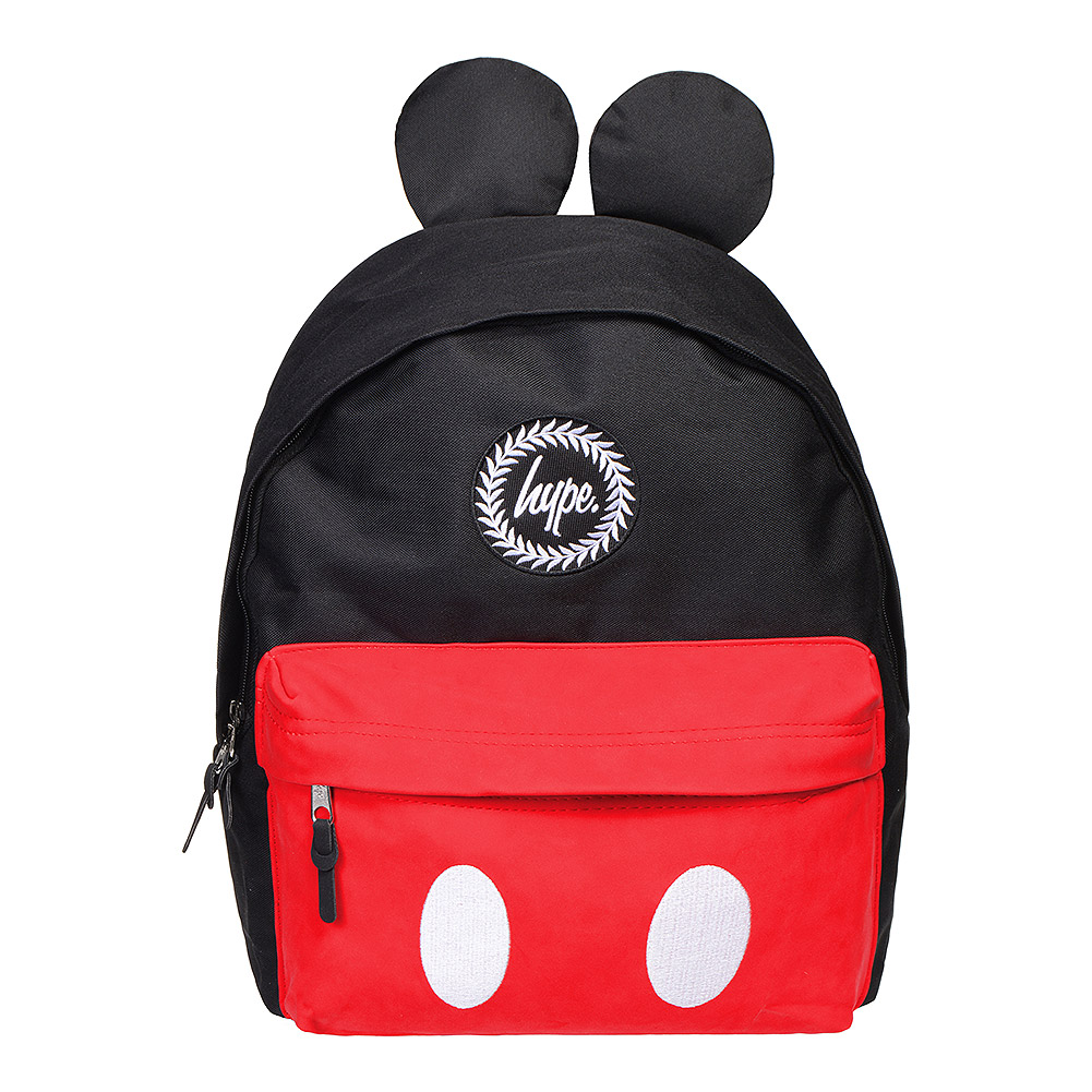 ... Hype Disney Mickey Mouse Backpack (Black Red) ... 8b4f5045b89c7