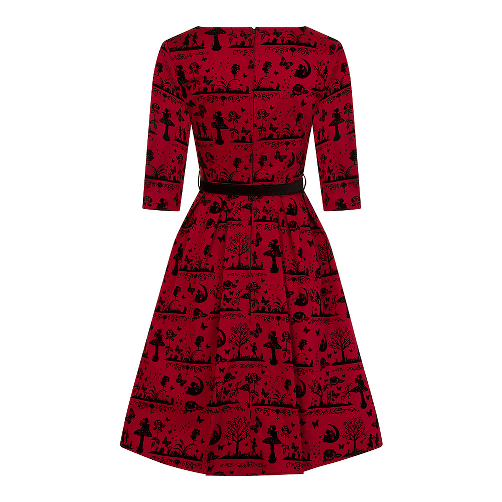 Hell Bunny Anderson 50s Dress (Red)