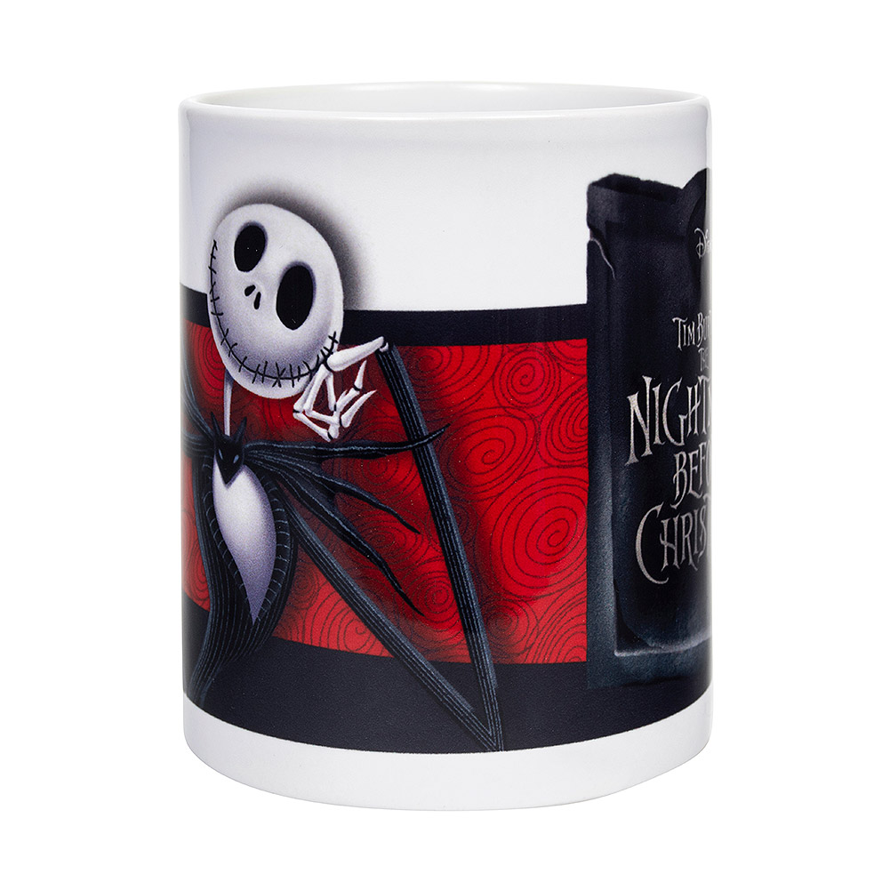 Nightmare Before Christmas Jack Banner Mug (White)