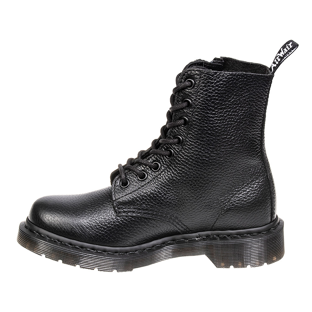 Dr Martens 1460 Pascal Boots With Zip (Black)