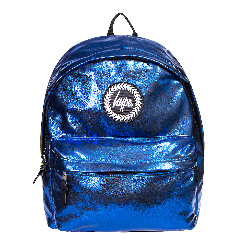 Hype Matte Foil Backpack (Blue)
