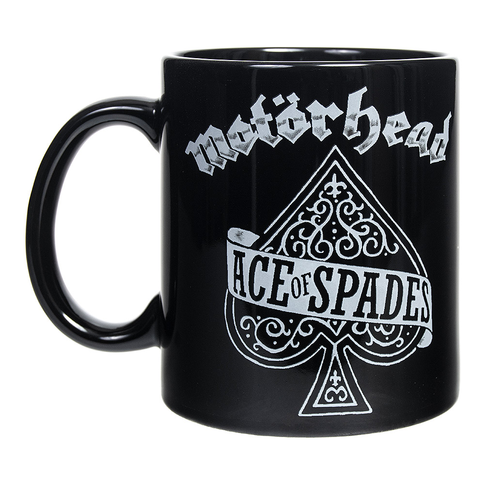 Official Motorhead Ace of Spades Mug (Black)