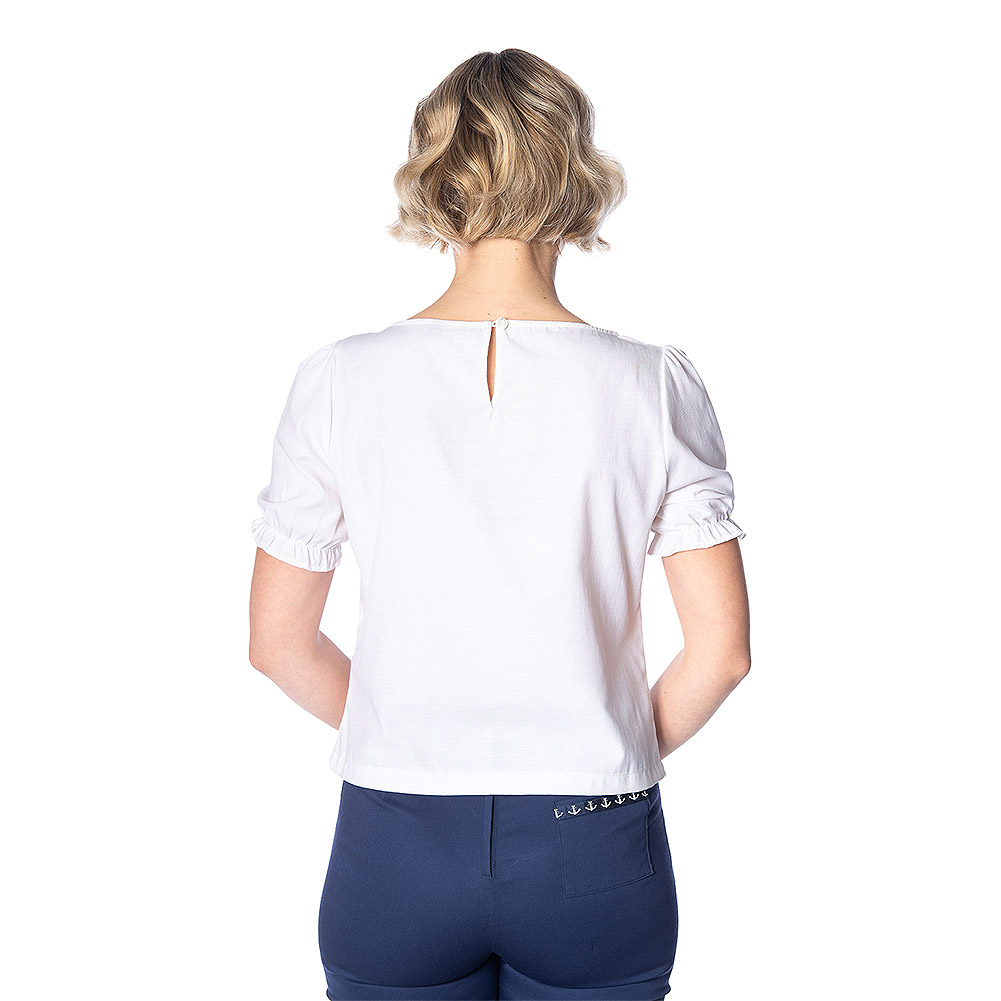 Banned Lobster Love Top (White)