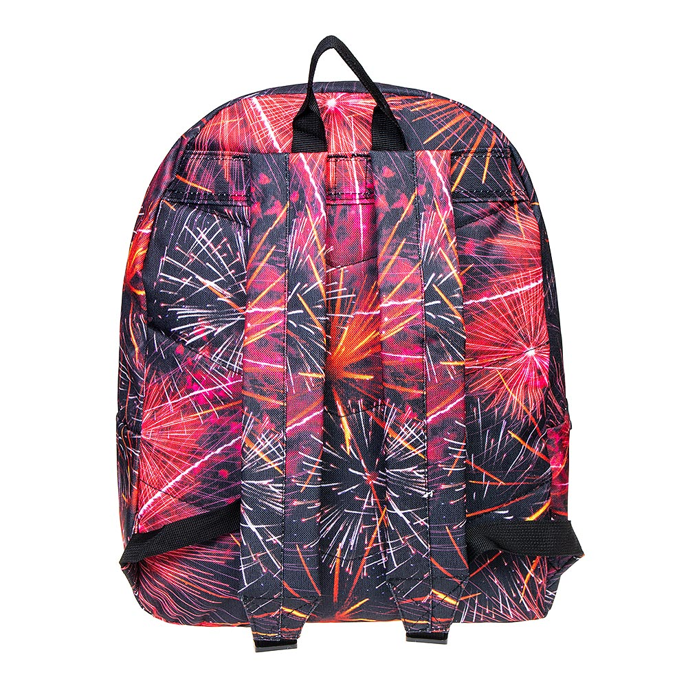 Hype Red Fireworks Backpack (Multicoloured)