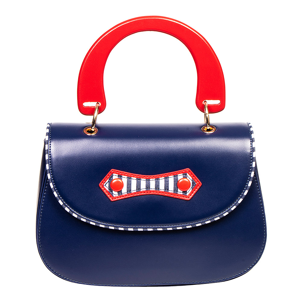 Banned Boat Current Tasche (Navy Blau)
